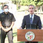 LA Mayor Eric Garcetti Announces Water/Power Cuts to Homes Having Parties